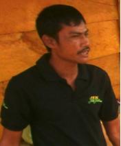 Guntur, 41 tahun, Supir PT. Bara Batu Ampar Prima (BBAP)