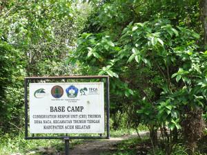 CRU Base Camp in Singkiel