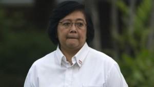 Siti Nurbaya Bakar, Menteri Lingkungan Hidup dan Kehutanan. Foto:  Beritasatu.com